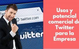Usos y potencial comercial de Twitter